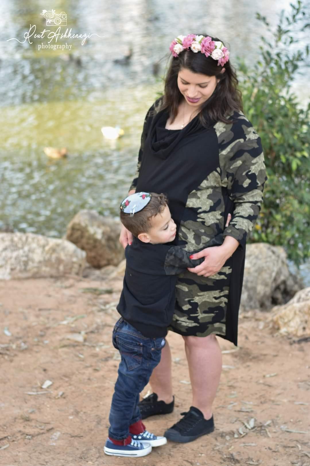 צילומי הריון צנועים